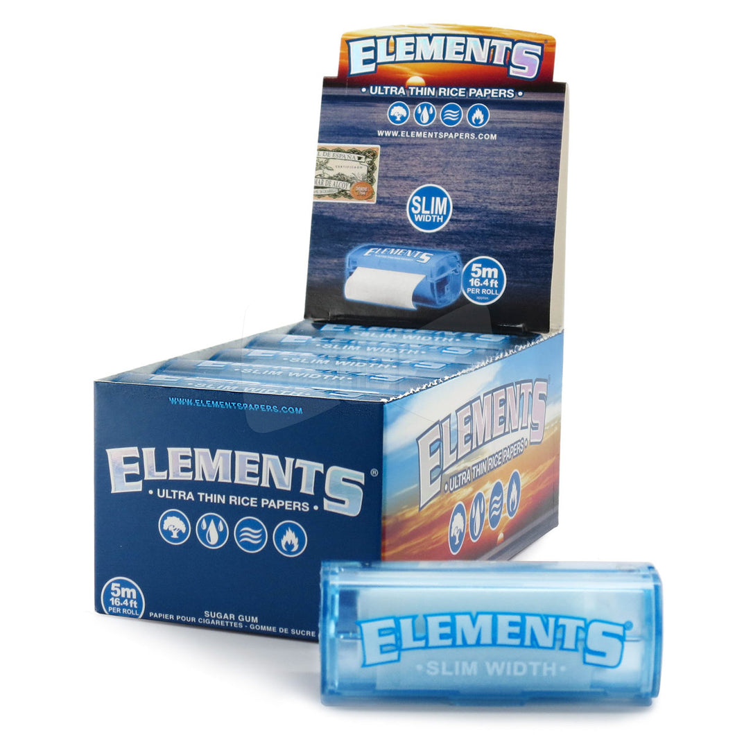 Elements Ultimate Rice Papers Roll - Slim Size