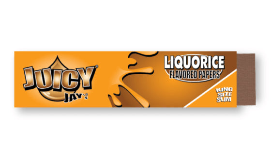Juicy Jay's Liquorice Rolling Papers - King Size