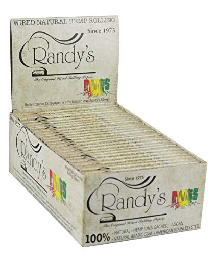 Randy's Wired Organic Hemp Rolling Paper
