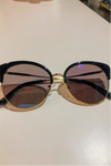 Sophisticated Cat Eyed Sunglasses