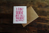 Can't Believe We're Still Together Card | Lion Heart Prints | Wanderlust By Abby