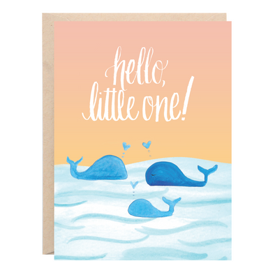 Hello Little One Baby Greeting Card