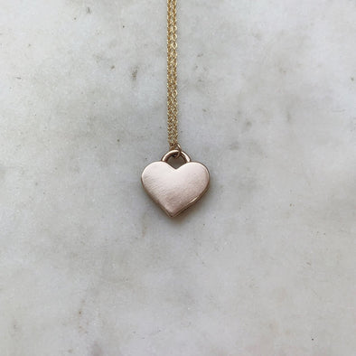 Mimosa Live Out Love Heart Necklace