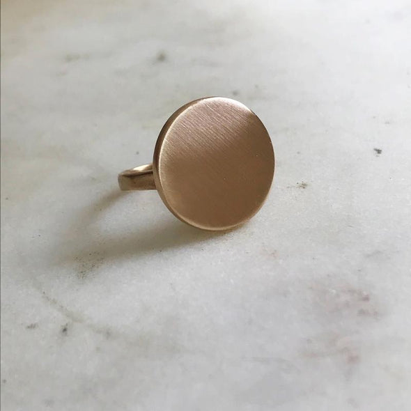 Mimosa Minimal Circle Ring | Mimosa Handcrafted | Wanderlust By Abby