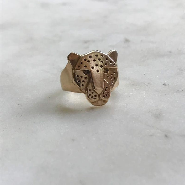 Mimosa Jaguar Ring | Mimosa Handcrafted | Wanderlust By Abby
