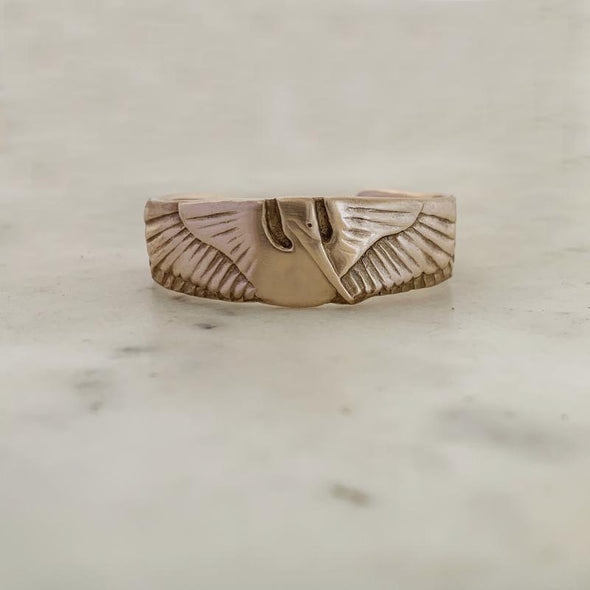 Mimosa Handcrafted Mini Petite Pelican Cuff | Mimosa Handcrafted | Wanderlust By Abby