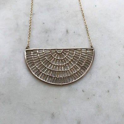 Mimosa Shimmering Sun Necklace