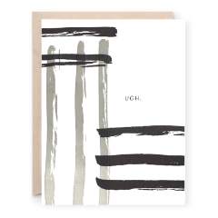 UGH Greeting Card | Lion Heart Prints | Wanderlust By Abby