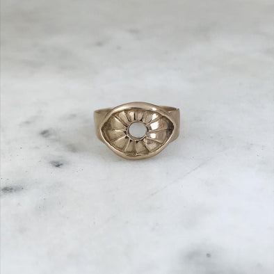 Mimosa Eye Ring | Mimosa Handcrafted | Wanderlust By Abby