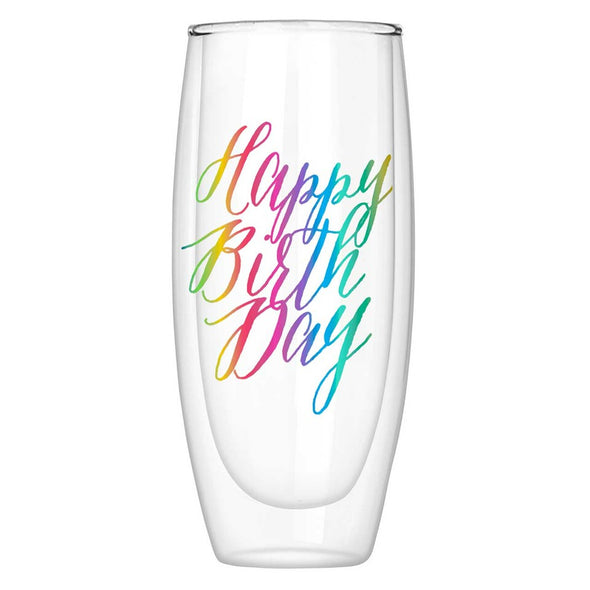 Floral Birthday Cake Greeting Card