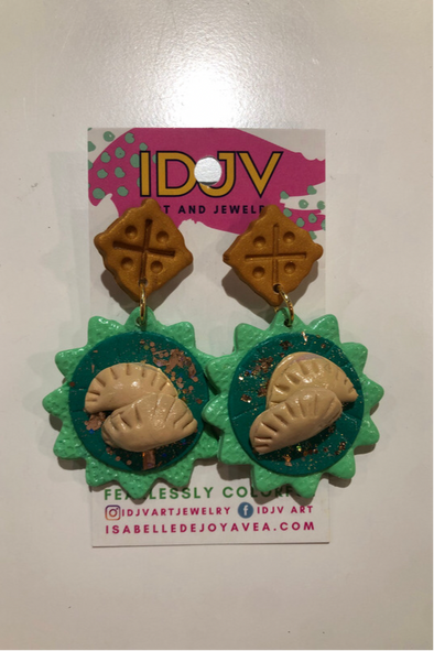 IDJV Meat Pie Earrings