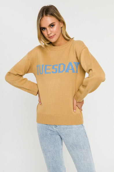 Tuesday Motif Sweater