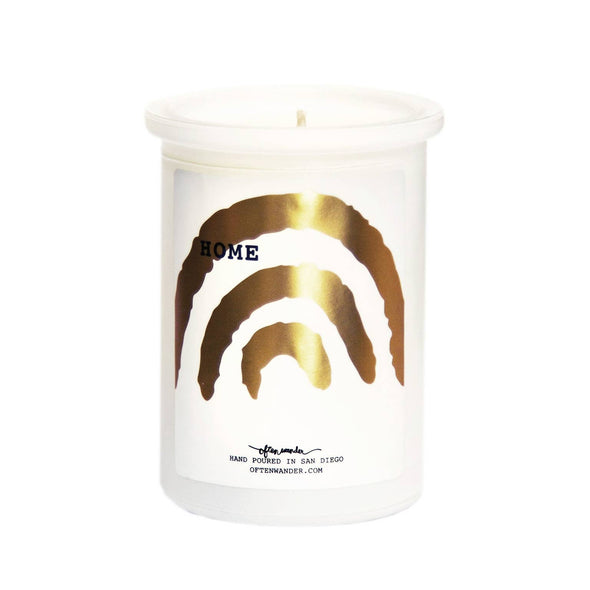 Often Wander Home Candle