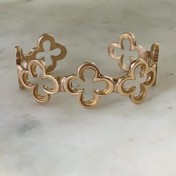 Mimosa Quatrefoil Cuff | Mimosa Handcrafted | Wanderlust By Abby