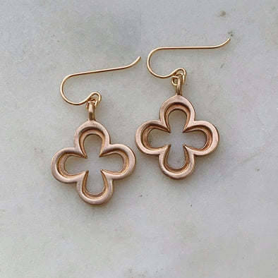 Mimosa Quatrefoil Earrings | Mimosa Handcrafted | Wanderlust By Abby