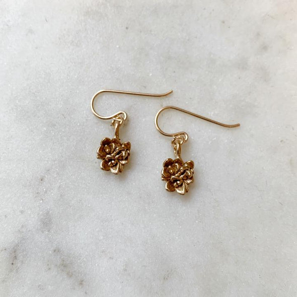 Mimosa Handcrafted Small Succulent Earrings | Mimosa Handcrafted | Wanderlust By Abby