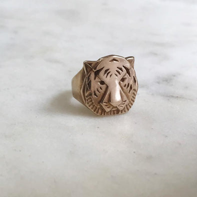Mimosa Tiger Ring | Mimosa Handcrafted | Wanderlust By Abby