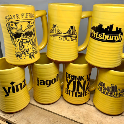 Pittsburgh Steins
