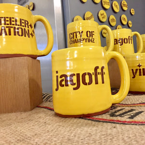 pittsburgh mugs gold