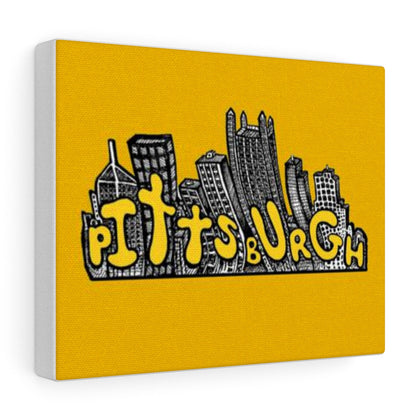 Pittsburgh Cityscape Canvas Gallery Wraps