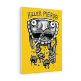 Killer Pierogi Canvas Gallery Wraps - Pittsburgh Pottery