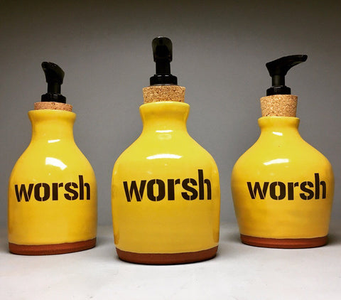Pittsburghese Worsh Soap Dispenser