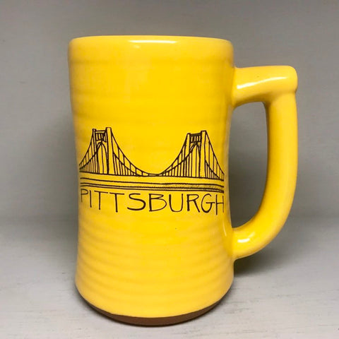 Pittsburgh Bridge Beer Stein