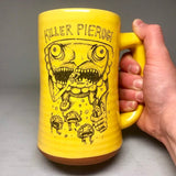 Killer Pierogie Pittsburgh Beer Stein