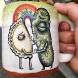 Love is Love Pierogi and Pickle Mug