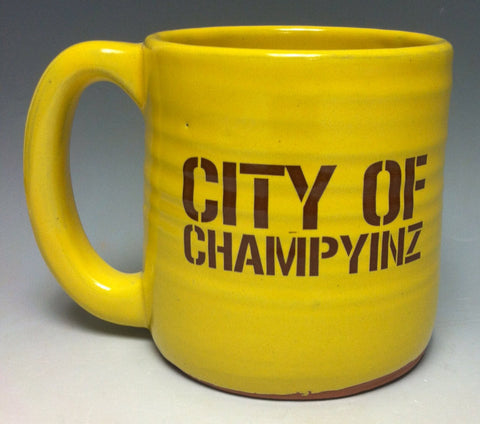 City of Champyinz Pittsburgh Pottery Mug - Pittsburgh Pottery