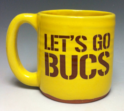 Let's Go Bucs Pittsburgh Pottery Mug - Pittsburgh Pottery