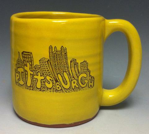 Cityscape Pittsburgh Pottery Mug - Pittsburgh Pottery