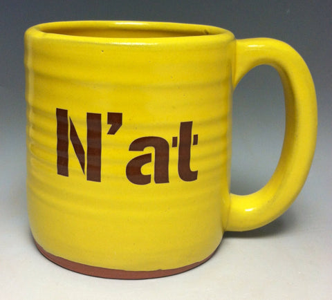 N'at Pittsburgh Pottery Mug - Pittsburgh Pottery