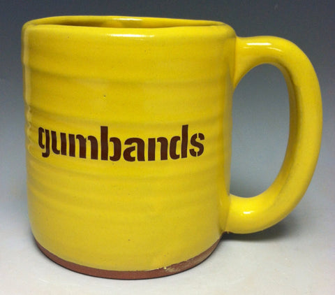 Gumbands Pittsburgh Pottery Mug - Pittsburgh Pottery