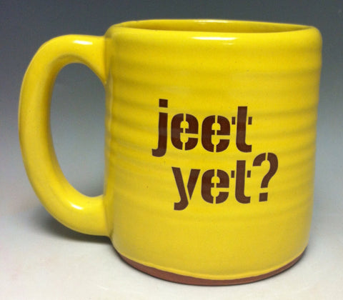 Jeet yet? Pittsburgh Pottery Mug - Pittsburgh Pottery