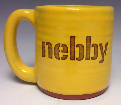 Nebby Pittsburgh Pottery Mug - Pittsburgh Pottery
