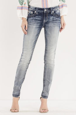 Miss Me After Party Mid Rise Ankle Skinny Jeans