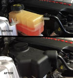 Coolant expansion tank cover