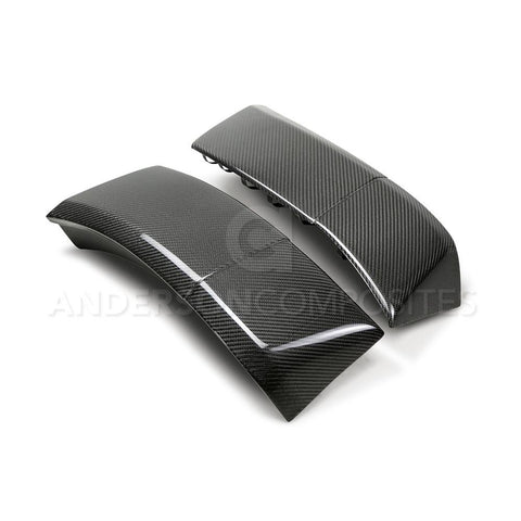 Carbon Fiber Rear fender flare extensions