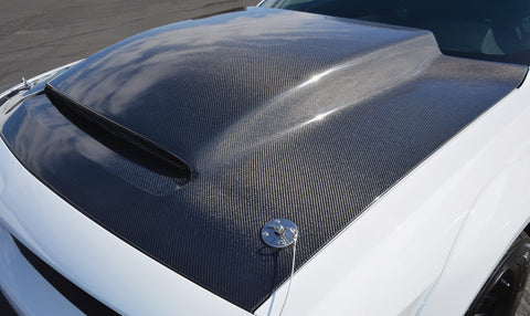 Carbon Fiber Demon Cowl Hood
