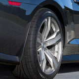 Rear Wheel Splash Guards Early model