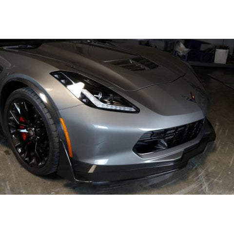 Carbon Fiber Track Pack Air Dam Z06