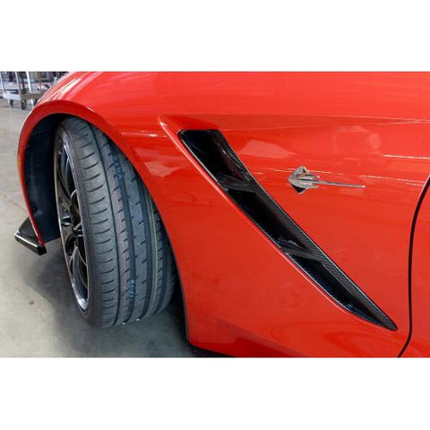 Carbon Fiber Fender Vents Stingray