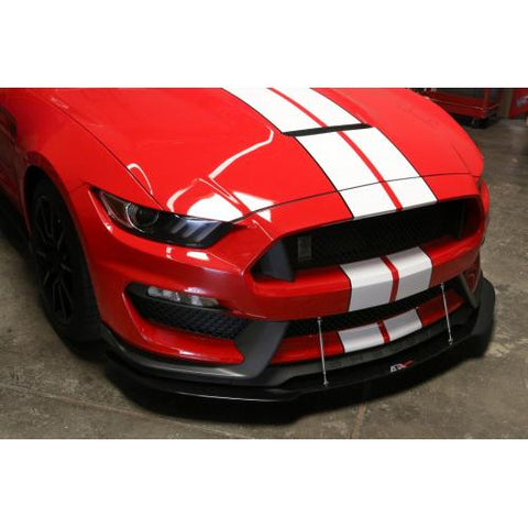 Carbon Fiber Splitter early model GT-350