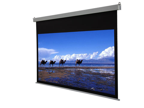 Vega Manto Electric Wall/Ceiling Projector Screen- Size 2.4mx1.35m (4:3)&(16:9) ( remote included)