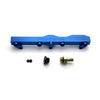 Honda / Acura B Series GEM Fuel Rails-Fuel Rails-Blue-OEM Banjo Fitting + 3/4 Boss Plug-GoldenEagleMfg
