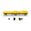 Honda / Acura B Series GEM Fuel Rails-Fuel Rails-Gold-OEM Banjo Fitting + 3/4 Boss Plug-GoldenEagleMfg