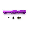 Honda / Acura B Series GEM Fuel Rails-Fuel Rails-Purple-OEM Banjo Fitting + 3/4 Boss Plug-GoldenEagleMfg