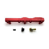 Honda / Acura B Series GEM Fuel Rails-Fuel Rails-Red-OEM Banjo Fitting + 3/4 Boss Plug-GoldenEagleMfg
