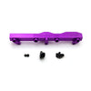 Honda / Acura B Series GEM Fuel Rails-Fuel Rails-Purple-6AN Fitting + 3/4 Boss Plug-GoldenEagleMfg
